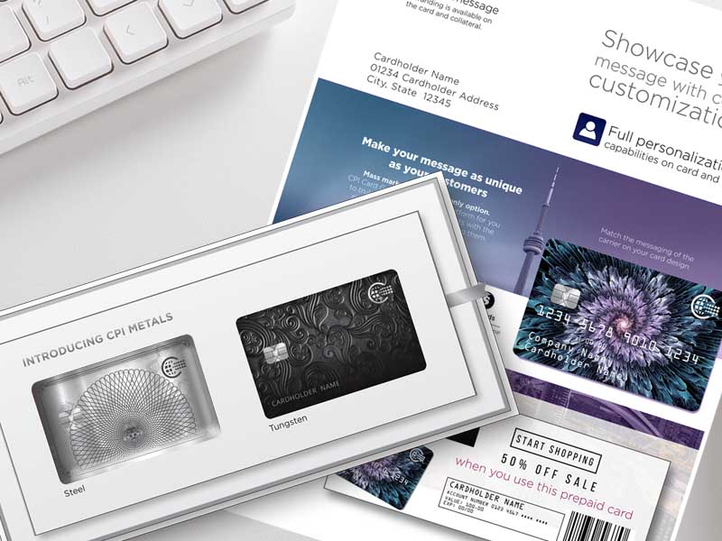 payment card packaging