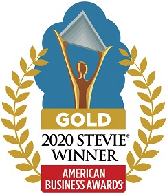 2020 Gold Stevie Award Badge